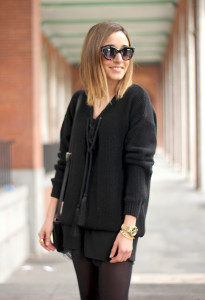 Mango Black Sweater17