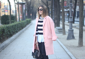 Pink Coat & Stripes24