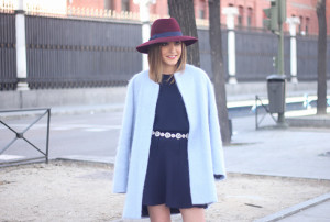 Blue Coat and Burgundy Hat24