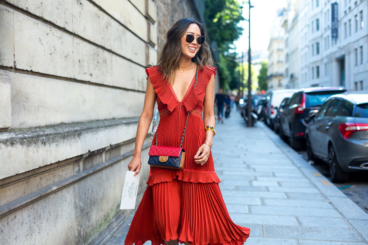 Street Style From Paris Fashion Week Besugarandspice Fashion Blog