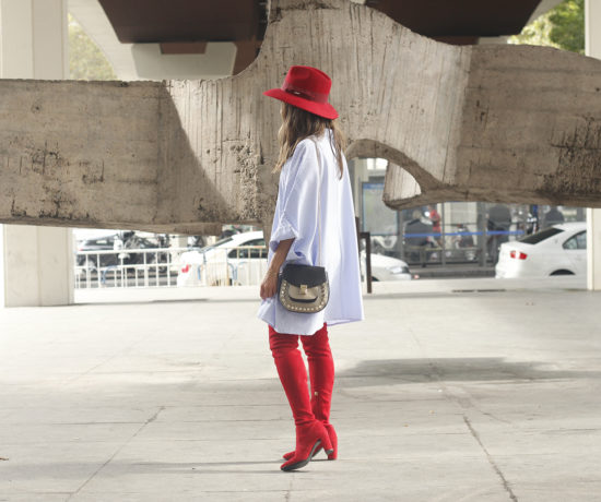 striped-dress-red-over-the-knee-boots-red-hat-accessories-fashion-outfit-style-autumn11